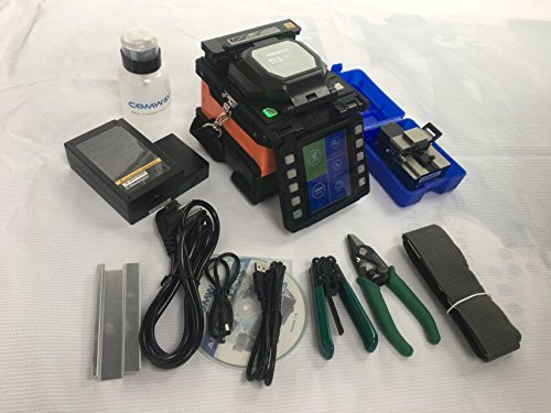 High-tech Single COMWAY C6 Fiber Fusion Splicer Welding Splicer USA Fiber Optic Splicing Machine