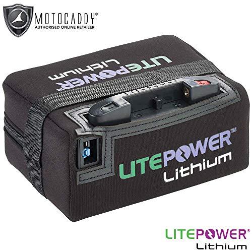 Motocaddy Lifepower Universal Verlengde lithium golfbatterij & oplader + gratis tas