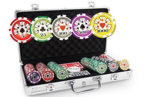 Valigetta Poker Laser Deluxe 300gettoni
