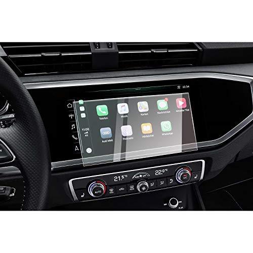 CDEFG per Audi Q3 F3 2019 Infotainment System MMI 8.8 Inches Car Navigation Glass Pellicola protettiva 9H Scratch Resistant Anti-Fingerprint GPS Proteggi Schermo Trasparente Screen Protector