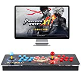 Pandora Treasure 3D Arcade Game Console - 2706 Games Installed, Search Games, Support 3D Games, Add More Games, 1280x720P, Favorite List, 4 Players Online Game, 2 Player Game Controls (Red)
