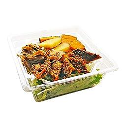 [冷蔵] RF1 1/2日分野菜 秋刀魚と野菜の秋色サラダ 酢味噌ドレッシング付き 1人前
