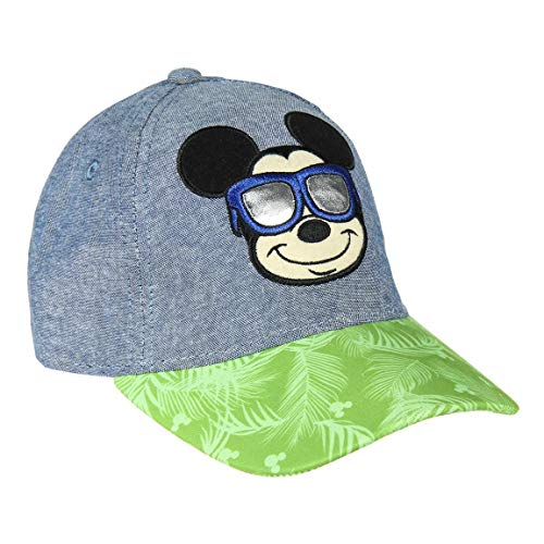 Cerdá 8427934353149 Gorra Premium Mickey, Multicolor, Talla...