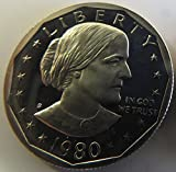 1980 S Susan B. Anthony Proof Dollar Dollar Perfect Uncirculated US Mint