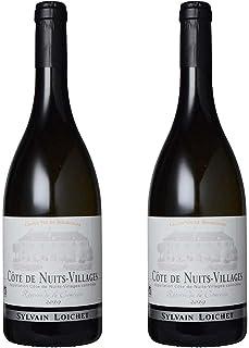 [2本まとめ買い] コート・ド・ニュイ・ヴィラージュ 白 (Cote de Nuits Villages Blanc) 2019年 ドメーヌ・シルヴァン・ロワシェ フランス コート・ド・ニュイ・ヴィラージュ 白ワイン 辛口 シャルドネ 750ml