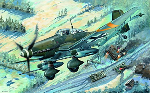Trumpeter 03218 - Modellbausatz Junkers Ju-87G-2 Stuka