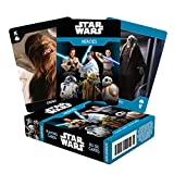 AQUARIUS Star Wars Playing Cards - Light Side Heroes Themed Deck of Cards for Your Favorite Card Games - Officially Licensed Star Wars Merchandise and Collectibles - Poker Size with Linen Finish