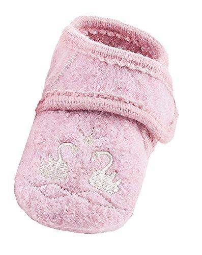 maximo 75203 - Baby Lauflernschuhe Schwan ABS Schuhe aus Wolle Babyschuhe (17/18)