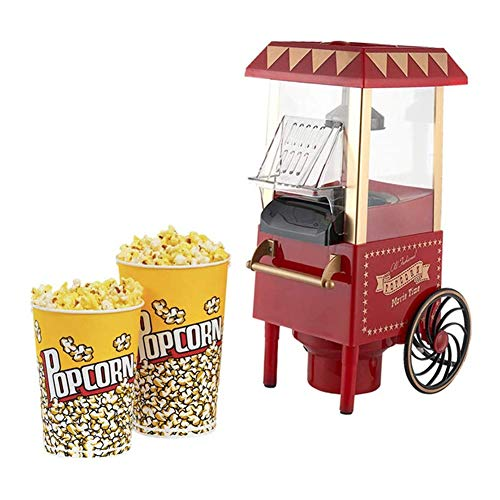 Find Discount IhDFR Hot Air Popcorn Maker, Hot Oil Movie Theater Style Popcorn Nonstick Kettle,Bar, ...