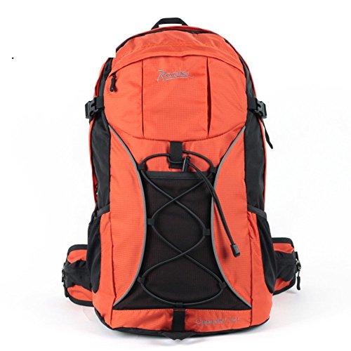 Backpack éclairage extérieur Sac de randonnée imperméable/32L Sac à Dos de randonnée Riding-Orange 1 32L