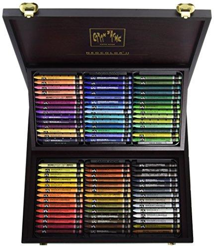 Caran dAche Neocolor II Pastels (Box Set 84 Colors)