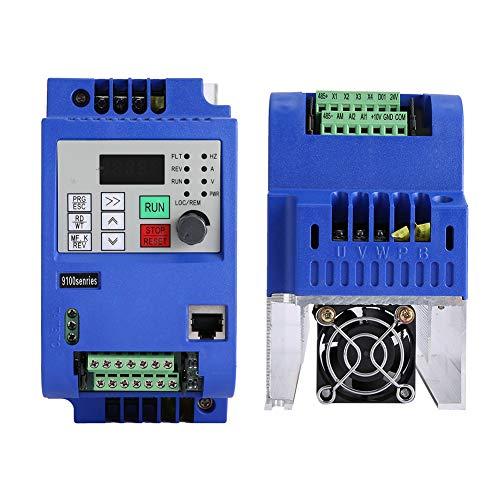 3 FASE VFD, convertidor de antecedentes 3 fases 0-650Hz hecho de plástico 10a