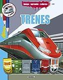 Trenes (Colorea y juega)