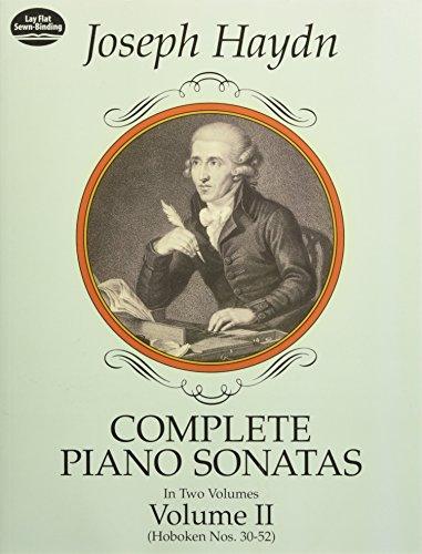 Complete Piano Sonatas Volume 2 (Hoboken Nos. 30-52. Breitkopf & H? rtel edition.): Noten für Klavier (Dover Music for Piano)