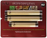 MIU France Silicone Non-stick Baking Liners, 3 Ct