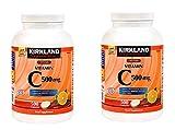 Kirkland Signature Vitamin C 500mg 2-Pack or 1000 Tangy...