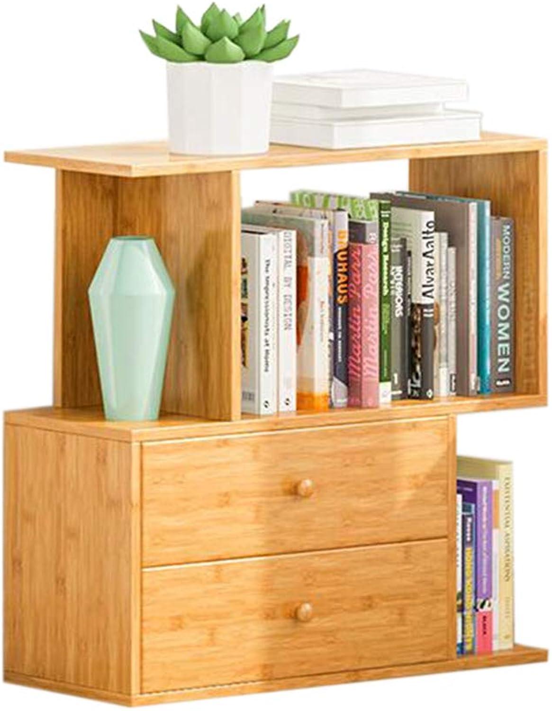 JCAFA Shelves S-Type Bookshelf Rack Storage Drawer Floor-Standing Bookcase Free Combination Multifunctional Creative Bookshelf (Size   26.77  9.84  25.98in)