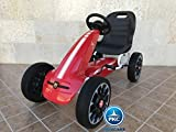 PEKECARS Kart A Pedales FIAT Abarth Red
