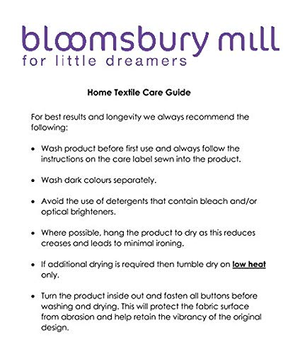 Bloomsbury Mill - Hearts & Butterflies Patchwork - Kids Bedding Set - Pink - Junior/Toddler/Cot Bed Duvet Cover and Pillowcase