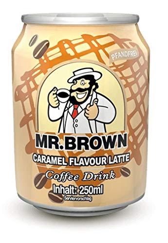 Mr. Brown Caramel Flavour Latte 24er Pack (24 x 250 ml)
