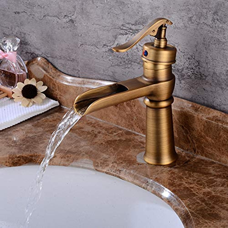 Kupfer Wasserhahn Bad Becken Heien Und Kalten Wasserhahn Antiken Kurzen Abschnitt
