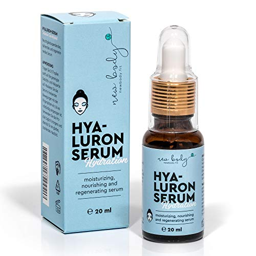 Hyaluronserum – vocht voor gezicht en lichaam. Anti-aging en verzorging voor alle huidtypes. Zeer zuinig!
