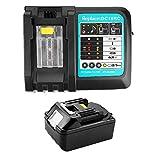 Batería de litio de repuesto BL1840 18V 4Ah + 3A DC18RC cargador 18 V para batería Makita BL1850 BL1860 BL1840 BL1830 BL1815 LXT-400 DC18RA DC18RC