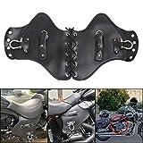 WINALL Motorcycle Heat Shield Deflector Leather Saddle Deflector Universal for Harley Touring Sportster Honda Yamaha Suzuki Kawasaki