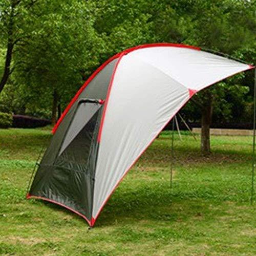 Auoeer Impermeabile Resistente Sun Gazebo, Ombra Canopy Sail Gazebo con i Lati, Robusto Tenda Eventi, for Il Turismo Campeggio Spiaggia Campo di Pesca.240 * 190 * 200cm