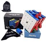 SOKOYO Moyu Meilong M Magnet 2x2 3x3 Magic Cube 4x4 5x5 Stickerless Speed Cube Magnet Puzzle Cube 2x2x2 3x3 4x4x4 5x5x5 (5x5x5)