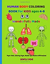 HUMAN BODY COLORING BOOK for KIDS ages 4-8: Wonderfully Made PDF