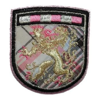 Wappen 5,5 cm 6,3 cm Bügelbild Aufnäher Applikation Orden Emblem Ritterorden