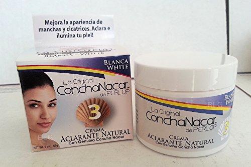 La Original Concha Nacar De Perlop 3 Crema Aclarante Natural 2oz