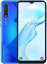 gostcai a81 Blue Metal Bluetooth 4.0 Unlocked Smartphone,6.7 Inch Drop Screen Dual SIM Phone,Fingerprint Face Unlock Dual ...
