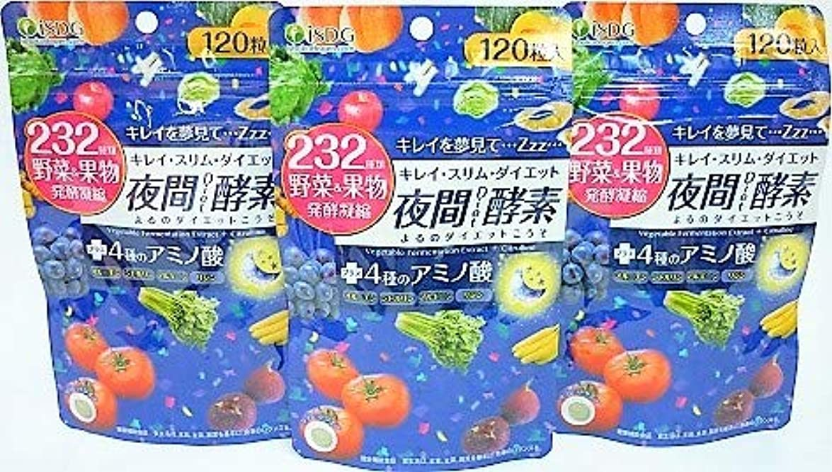 細部ハンディキャップタンザニア[3個セット]232夜間Diet酵素 120粒入り×3個