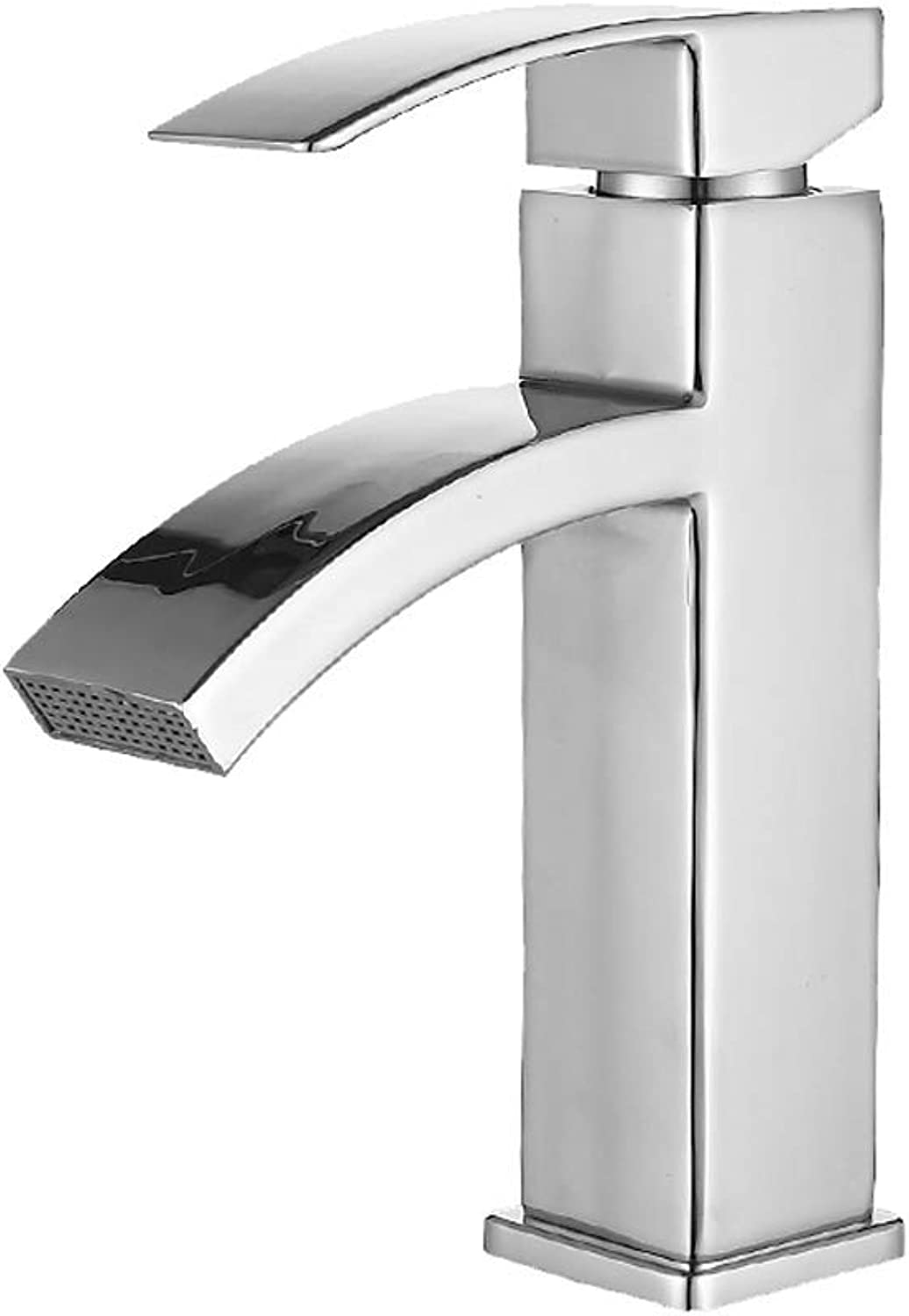DYR Faucet Face Basin Faucet Hot and Cold Faucet Counter Basin Sink Faucet Waterfalls High end faucet