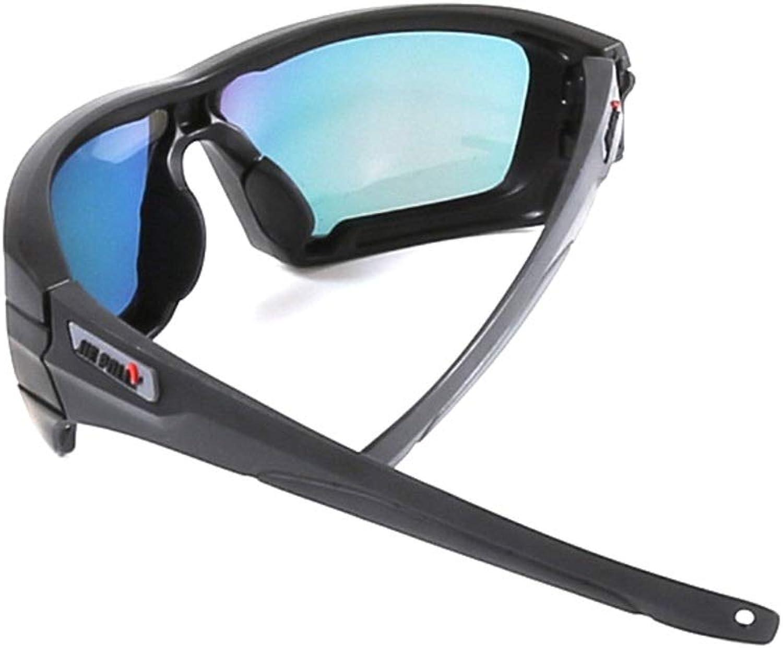 XIAMEND Sun Glasses Fashion Men Women Cycling Running Outdoor Sports Glasses Night Driving Glasses (color   Black)