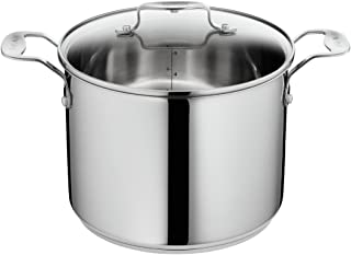 Tefal h8616114 Ideal 5 Olla de Acero Inoxidable Plata 22 cm