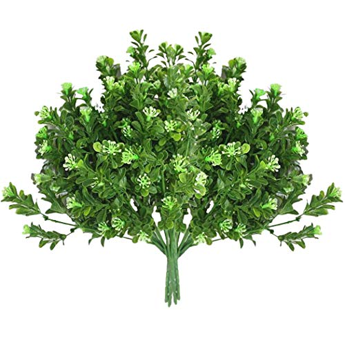 QWERTYU Nieuwe Kunstmatige Struiken Creatieve Decoratieve Kunstmatige Planten Varens Simulatie Plant Kunststof Bloem Varen Muur Materiaal Accessoires LIJIANME