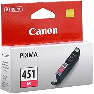 Canon Ink Cartridge, Magenta [cli-451m]