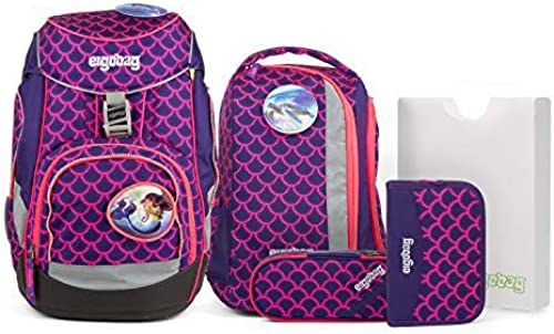 Ergobag Pack – Schulrucksack Set 6tlg. - Motive (Perlentauchb