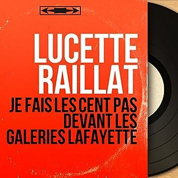 Je fais les cent pas devant les Galeries Lafayette (feat. Jean Claudric et son orchestre) [Mono Version]