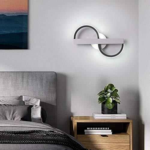 Liujie wandlamp voor woonkamer, led-wandlamp, dimbaar, eenvoudig creatief design voor thuis