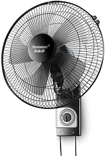 DUWEN Ventilador de Pared para el hogar, Ventilador de Pared, operación silenciosa, refrigerador de Aire de Ventilador eléctrico oscilante y estático y de Gran Angular, 3 Velocidad Ajustable, para el