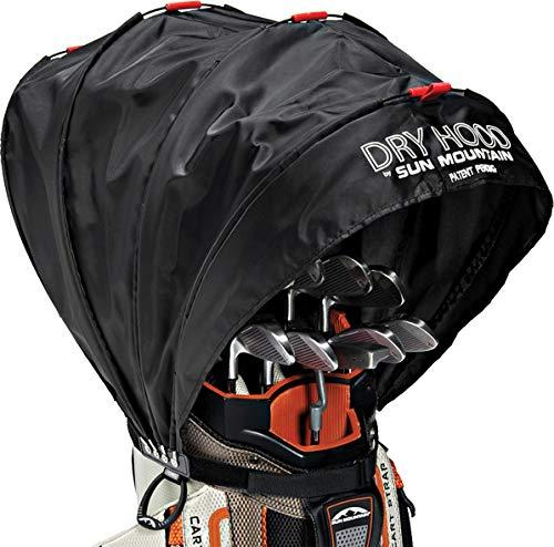 Sun Mountain Golf Bag Rain Cover Dry Hood – Regenschutz für Golftaschen, Schwarz, Einheitsgröße