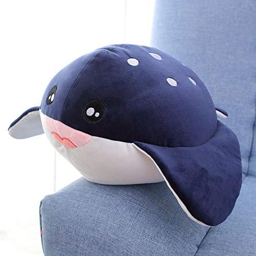 Zeedier knuffel kleine walvis pop slaapkussen haai pop-duivel vis pop _70 cm