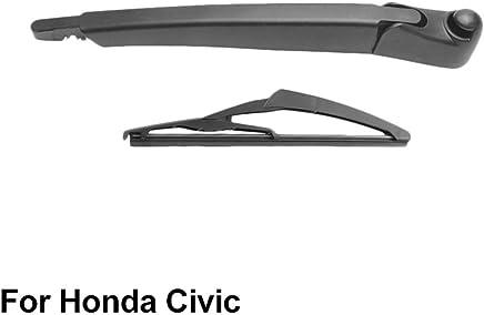 SLONGK Escobilla Y Brazo De Limpiaparabrisas Trasero, para Honda Civic Hatchback/Tourer 2012-