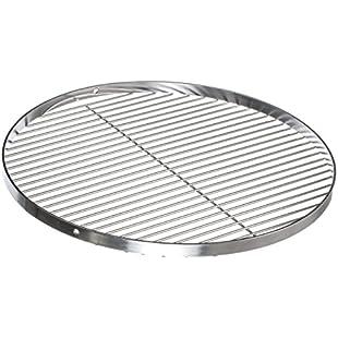 brandseller BRANDSSELLER Stainless Steel Barbecue Cooking Grate/Barbecue Grid/Diameter 60cm
