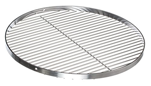 Brandsseller Edelstahl Grillrost Schwenkgrill geeignet - Rostfrei Edelstahl 18/0 Asi 430 Nickel frei - Ø 80 cm