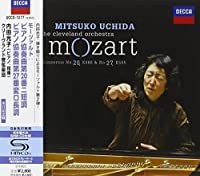 Mozart: Piano Concerto No. 20 & 27 by Mitsuko Uchida & the Cleveland